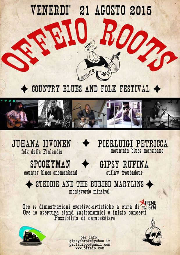 OFFEIO ROOTS – country blues and folk festival