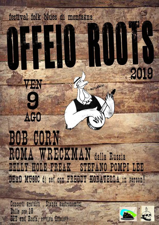 Offeio Roots – 9 Agosto2019